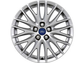 2 Ford Focus 17 inch alloy wheels only. NO TYRES