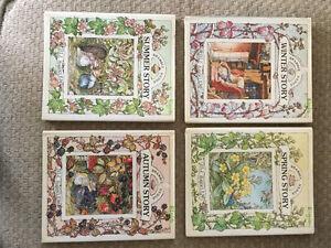 4-Set of Bradley Hedge Stories by Jill Barklem