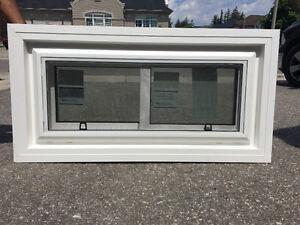 Side Slider Basement window 100 each NEW