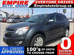 2011 CHEVROLET EQUINOX LT1 * AWD * BLUETOOTH * PREMIUM CLOTH SEA
