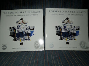 TORONTO MAPLE LEAFS MEDALLION SET Kitchener / Waterloo Kitchener Area image 4