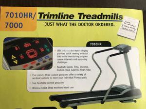"Tapis d'exercice robuste Trimline #7010, courroie 54""X20"""
