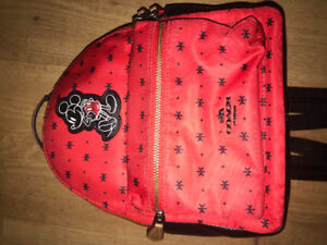 COACH X DISNEY Mickey Mouse Bandana MINI Backpack