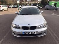 2005 BMW 1 Series Manual Diesel 2.0 120d ES 5dr Hatchback Silver Hpi Clear