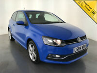 2014 64 VOLKSWAGEN POLO SEL TSI 1 OWNER SERVICE HISTORY FINANCE PX WELCOME