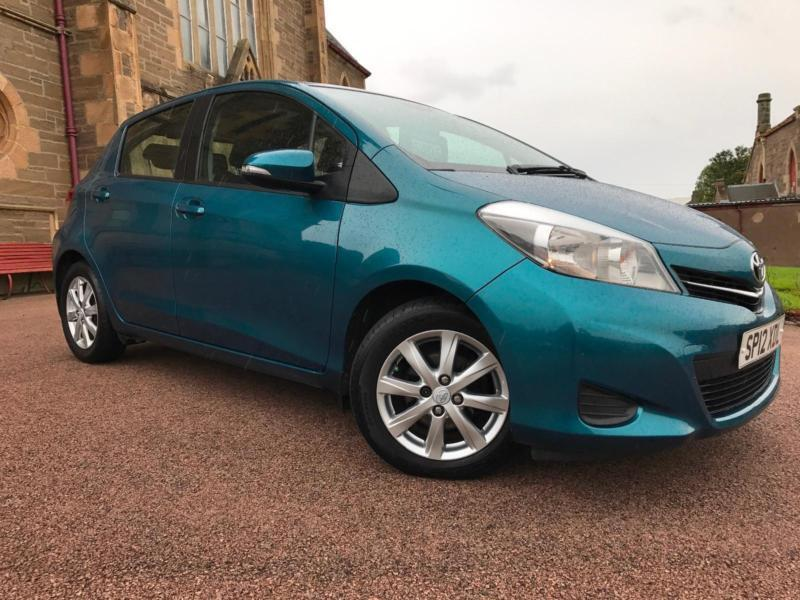*3 MTHS WARRANTY*2012(12)TOYOTA YARIS 1.3 VVT-I-TR 5DR WITH ONLY 55K*