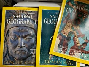 Magazines GEO et National Geographic, 40