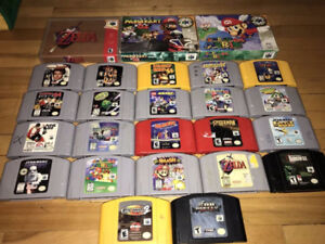 Nintendo 64 N64 Games System Console Controller Accessories ect
