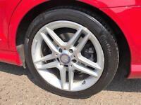 2013 Mercedes-Benz C Class 2.1 C220 CDI AMG Sport 7G-Tronic Plus 4dr Diesel red
