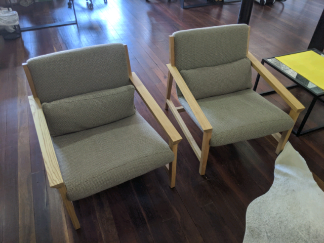 Designer Armchairs (pair) | Armchairs | Gumtree Australia ...