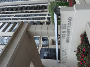 One bedroom condo for rent. 155 Beecroft Rd near Yonge and Shepa