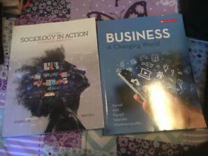 Text books msvu sociology and business