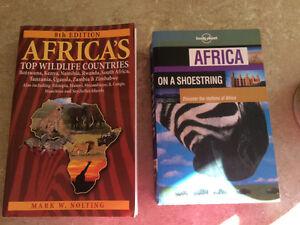 Africa Travel and Safari books