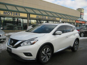 2015 Nissan Murano, Top Of The Line, Navi, Leather, Sunroof, BT