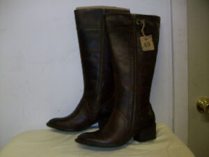 WiNTER BOOTS NEW, LEATHER, WATER RESiSTANT Sizes 5.5 to 12