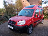 compact camper van Fiat Dibio