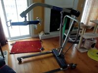 Invacare Reliant 450 Hydraulic Transfer Lift  *LOOK*