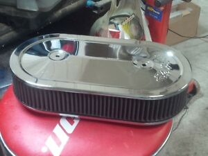 Edelbrock Dual Quad Air Cleaner and other Speed parts
