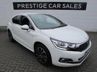2016 DS Ds 4 1.6 BlueHDi Elegance (s/s) 5dr Diesel white Manual