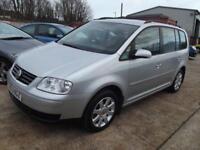 Volkswagen Touran 1.9TDI PD ( 7st ) SE 5 DOOR MPV 7 SEATER DIESEL