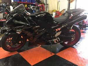 2007 Kawasaki Ninja limited edition