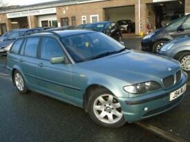 2002 J BMW 3 SERIES 2.0 318I SE TOURING 5D 141 BHP