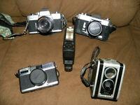Caméra photo Minolta, Canon, Fujica