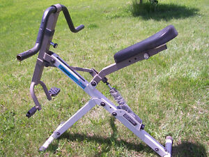 5 Pieces of Home Gym Equipment all in good working order & Scale