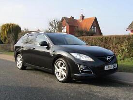 2010 Mazda 6 2.2d 180 BHP SPORT 5DR TURBO DIESEL ESTATE ** CHEAPEST MAZDA 6 S...