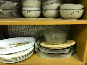 Assorted Pottery Dishware 3 SOLD
