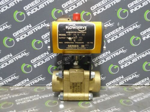 USED Flowserve 05F39NR3 Pneumatic Valve Ser. 39J05 80 PSI In-Lbs