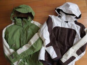 Manteaux d'hiver et foulards pour femme