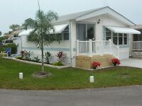 Manufactured home for rent in Largo Florida for next Winter