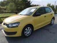 Volkswagen Polo S (yellow) 2010