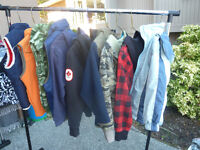 Mens, Teens and Boys Winter Clothing and Boots