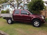 Holden 4WD dual cab 6 cyl extended alumin tray Twin Waters Maroochydore Area Preview