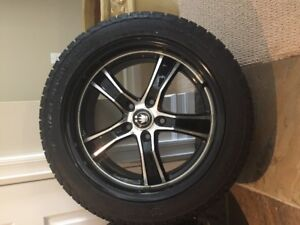 Konig alloy rims and Cooper Winter Tires for Imprezza 3 yrs old