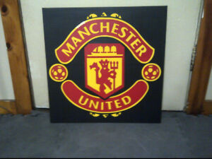 "Manchester United Sign 23"" x 23"""