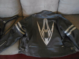 Arlen Ness American Legend Men Leather Motorcycle Jacket 3xl