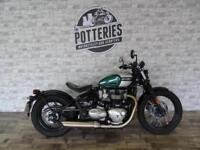 Triumph Bonneville Bobber 2017 *Rare colour low miles!*