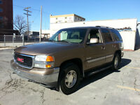 2003 GMC Yukon 4x4 8 Seater Sun Roof Leather Saftied Extra Clean