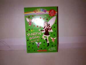 """The Magical Holiday"" Rainbow Fairy 4 Book Box Set Edition MINT!"