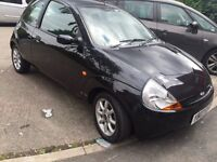 2007 black ford ka Beautiful clean car selling very cheap at only £500
