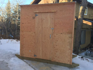 Two-Person Ice Fishing Shack