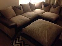 NEW LARGE DFS JUMBO CORNER SOFA CAN DELIVER FREE