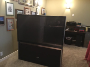 TV projection screen