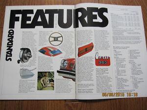 1974 Camaro Sales Brochure London Ontario image 6