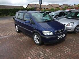 2004 Vauxhall Zafira 1.8 i 16v Design 5dr