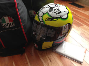 Brand New Limited Edition AGV GP-tech Rossi helmet