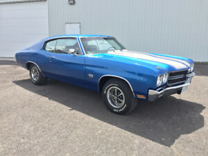 For Sale 1970 Chevelle SS Canadian Documented LS6, M22, 4:10